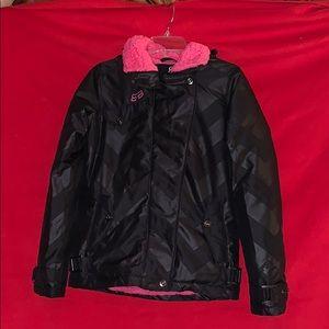 FOX Racing Pink Lined Bombers Jacket